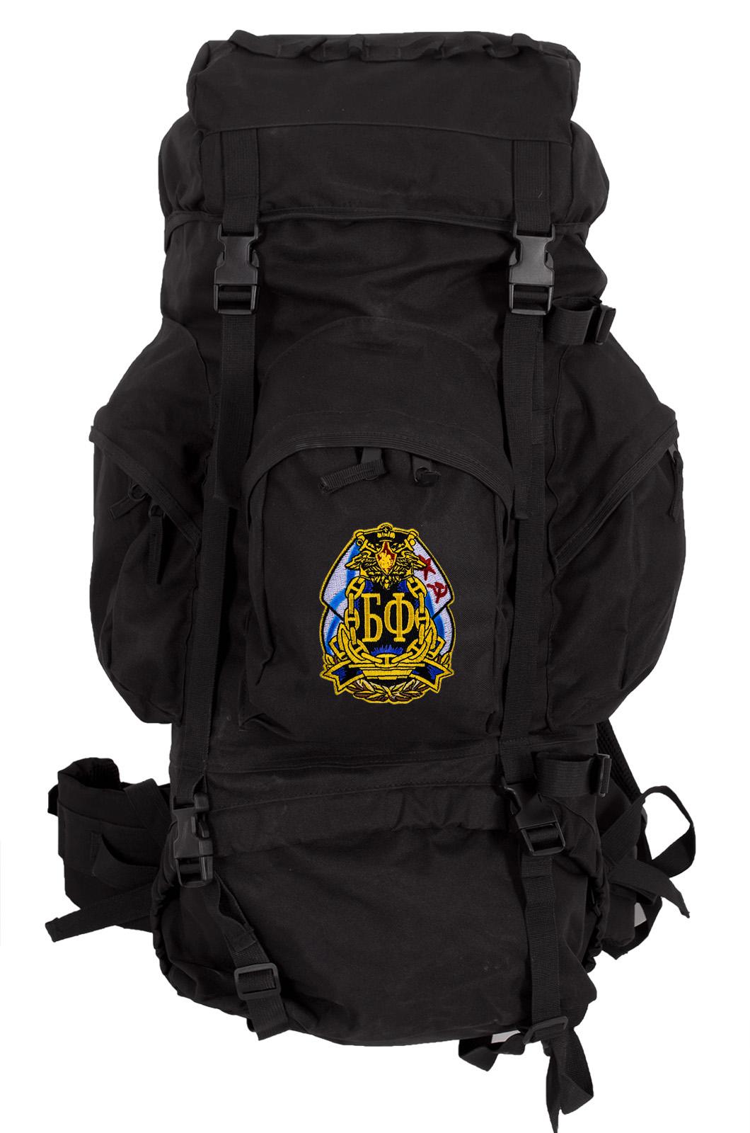 Крутой рюкзак с нашивкой Балтфлот.