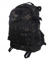 Крутой штурмовой рюкзак камуфляжа Black Multicam