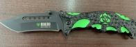 Крутой складной нож Biohazard