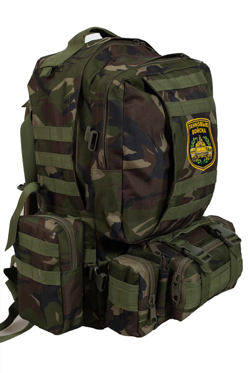 Крутой тактический рюкзак с нашивкой Танковые Войска - купить выгодно