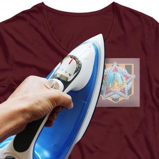 """Крутой термотрансфер на футболку """"Победа"""""""