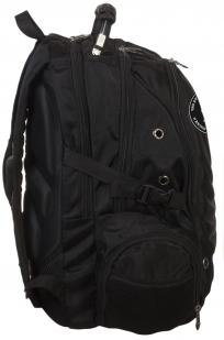 Крутой универсальный рюкзак с нашивкой Флаг Бакланова - купить оптом