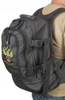 Крутой универсальный рюкзак с нашивкой Герб России