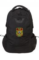 Крутой вместительный рюкзак с нашивкой Пограничная служба