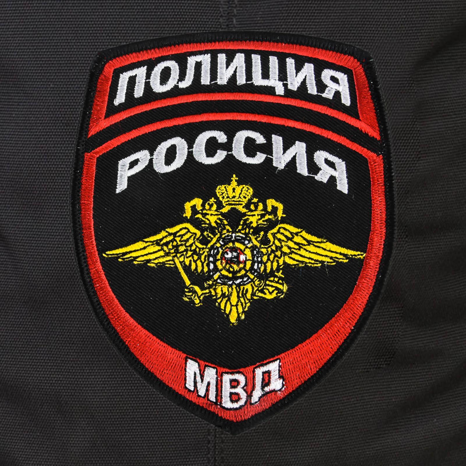 Крутой вместительный рюкзак с нашивкой Полиция России