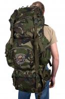 Крутой вместительный рюкзак с нашивкой Рыболовный Спецназ
