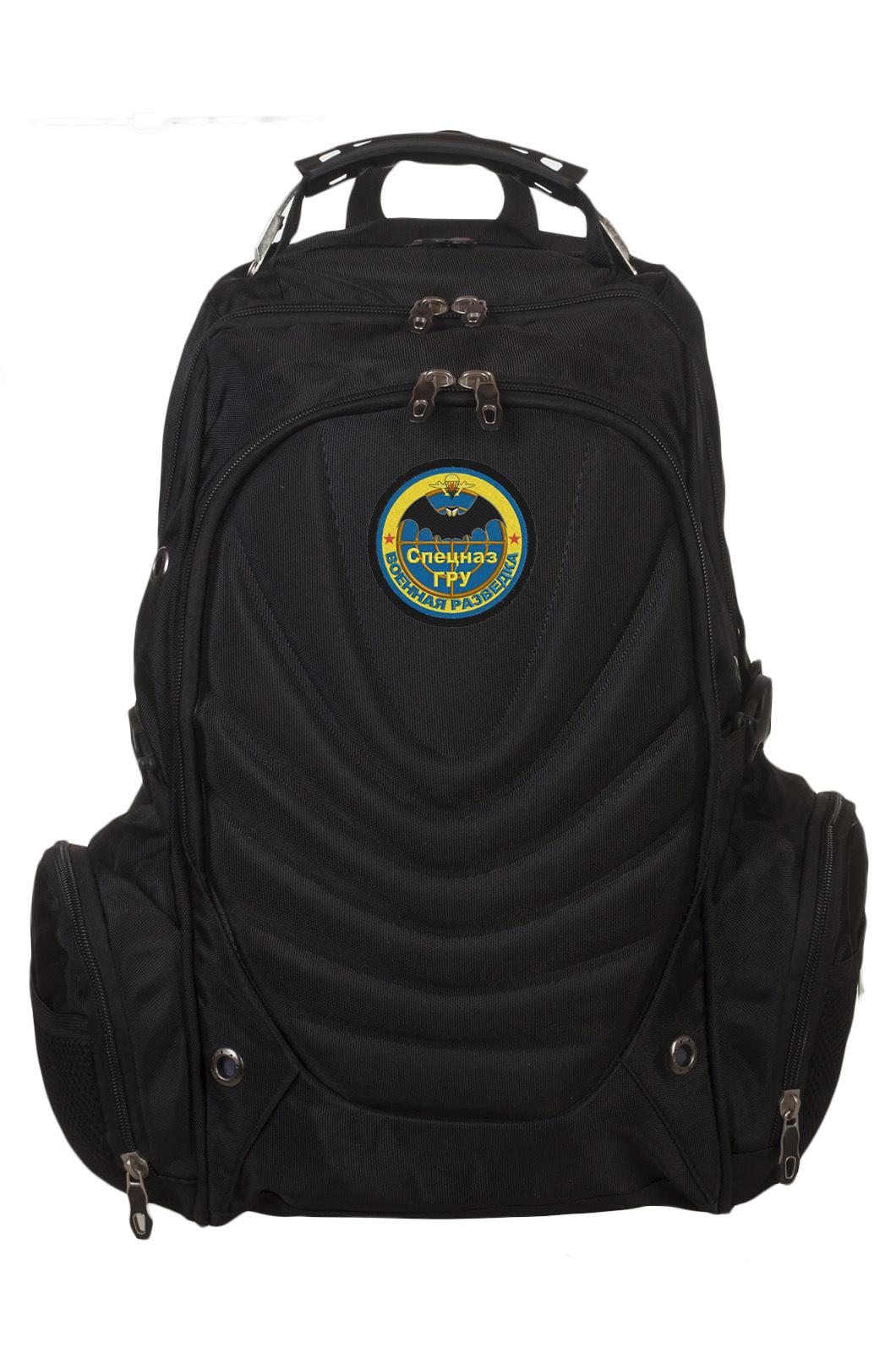 Крутой вместительный рюкзак с нашивкой Спецназ ГРУ