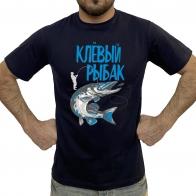 Крутая футболка рыбака