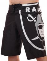 Крутые бордшорты NFL Oakland Raiders из инновационного материала Diamond Deluxe.