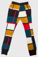 Крутые женские брюки LOBO с манжетами.