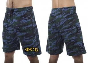 Крутые камуфляжные шорты сотруднику ФСБ с вышитой нашивкой