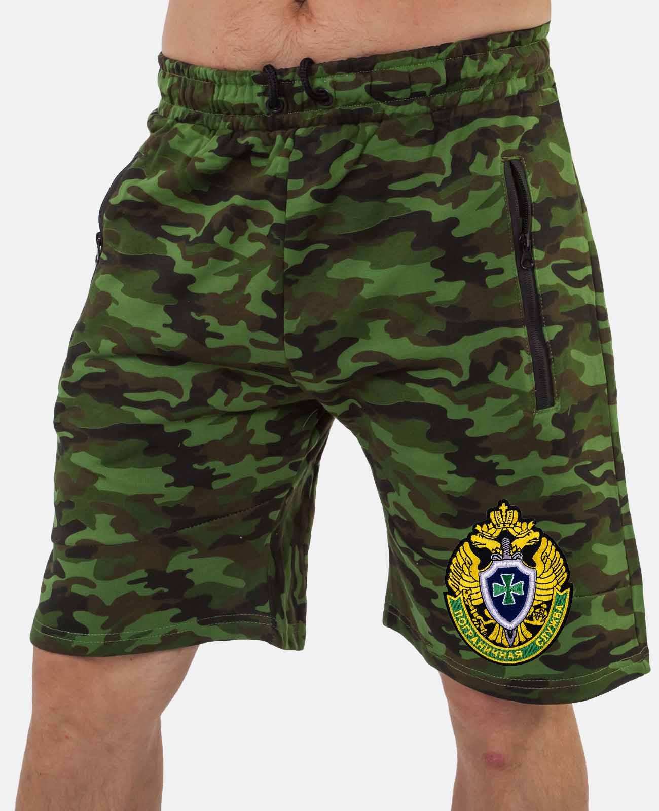 Крутые камуфляжные шорты для парней купить самовывозом или с доставкой