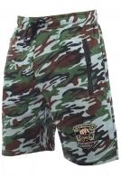 Крутые камуфляжные шорты с эмблемой Охотничьего спецназа