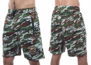 Крутые камуфляжные шорты с эмблемой Охотничьего спецназа купить с доставкой