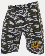 Крутые камуфляжные шорты с нашивкой РХБЗ