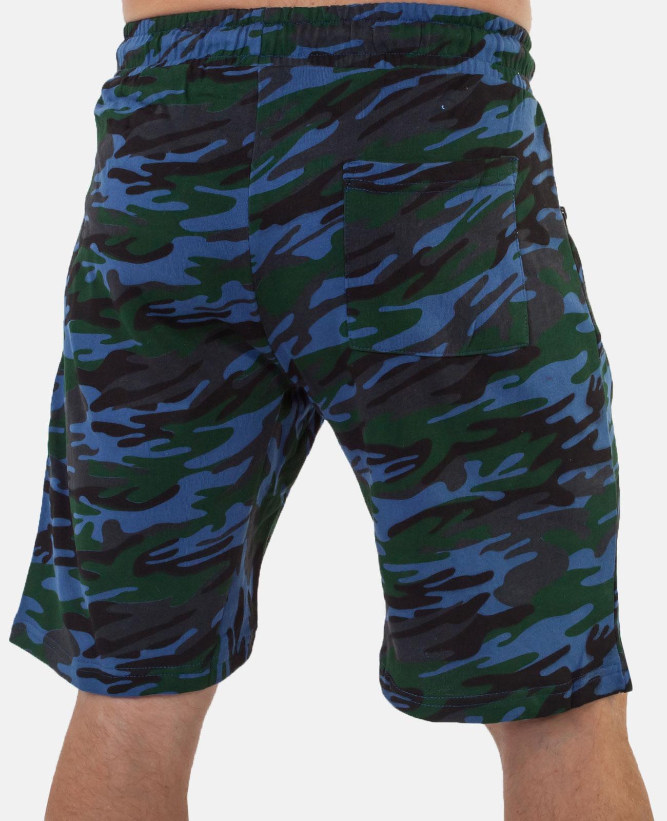 Крутые милитари шорты с нашивкой ПОЛИЦИЯ - заказать по низкой цене