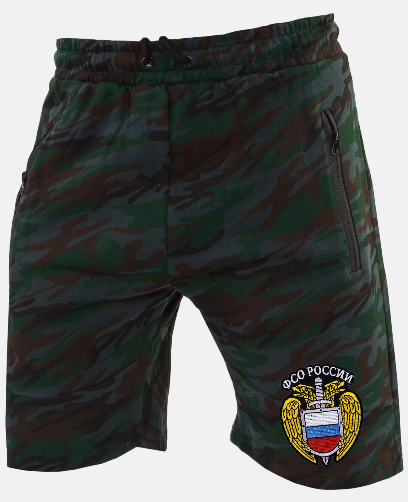 Купить крутые мужские шорты в армейском камуфляже