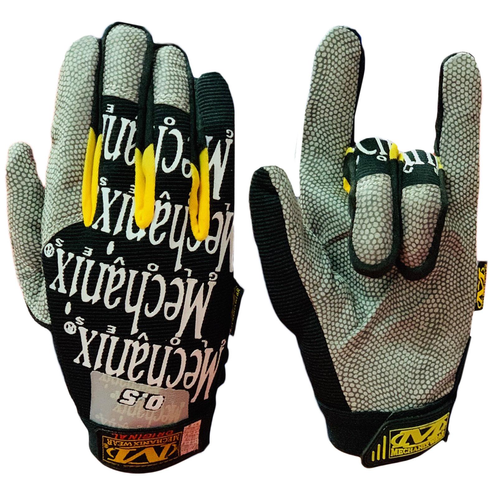 Крутые байкерские перчатки от Mechanix wear