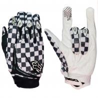 Крутые чопперские перчатки в клетку от Clarino