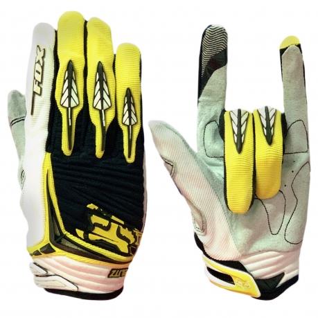 Байкерские трехцветные перчатки от Clarino