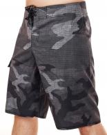 Крутые водооталкивающие камуфляжные бордшорты для брутальных парней