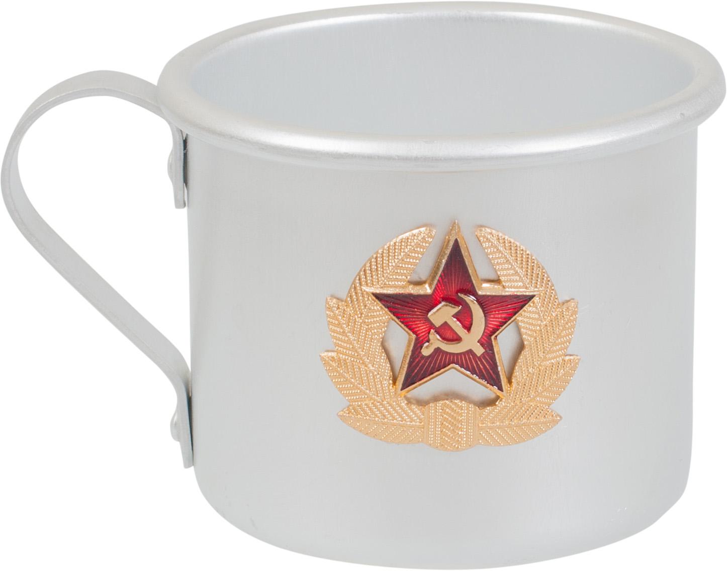 Кружка армейская СА | Армейские сувениры Кружка армейская СА