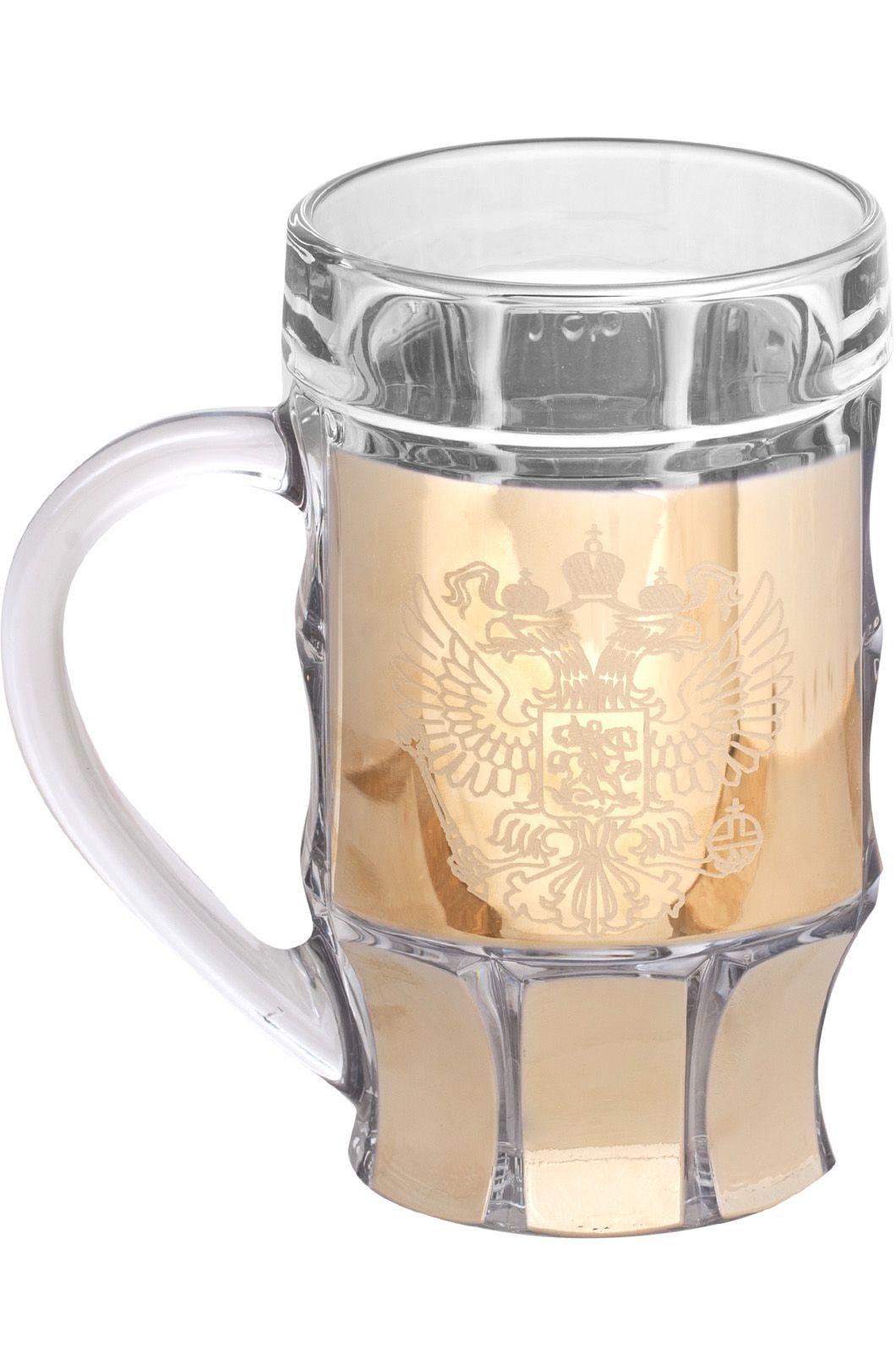 """Кружка для пива """"Герб РФ"""" - купить с доставкой"""
