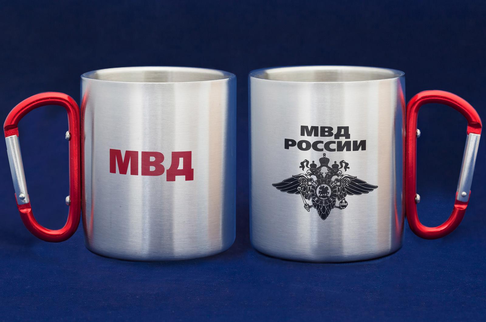 Подарочная кружка-карабин МВД России.