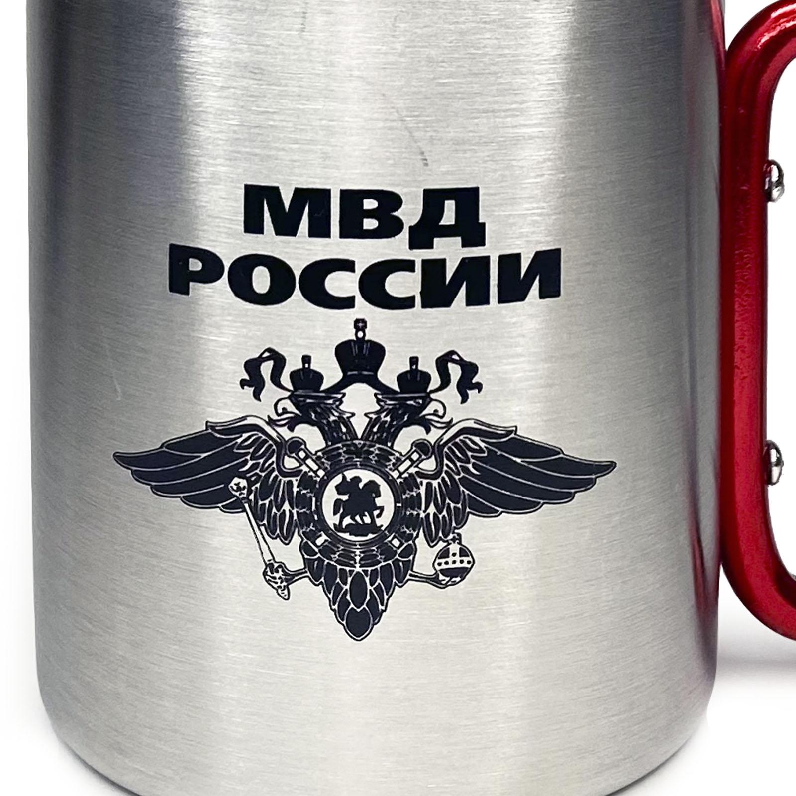 Подарочная кружка-карабин МВД России