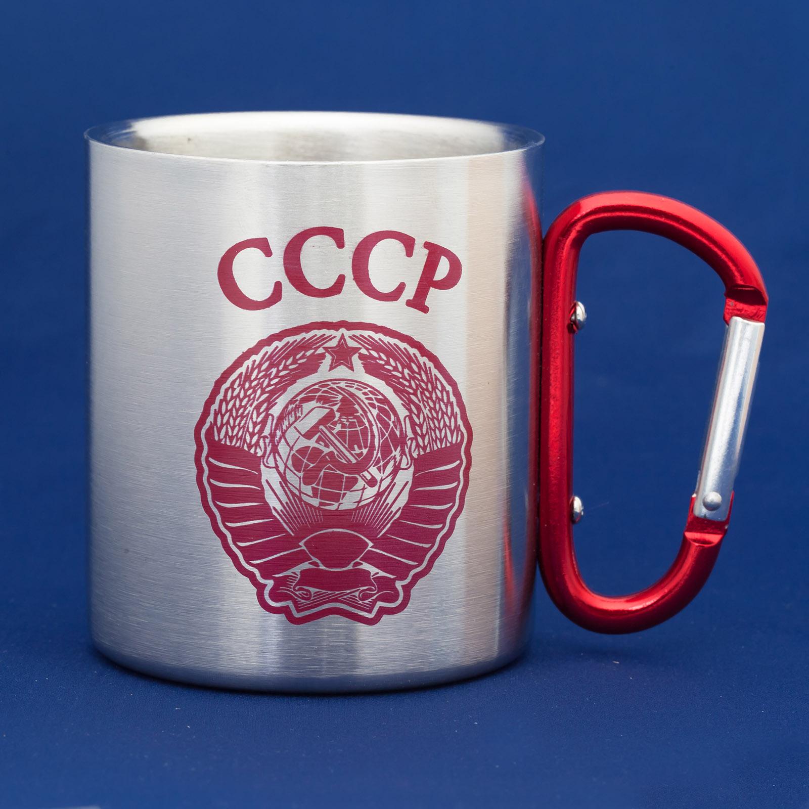 Тактические кружки из нержавейки в советском дизайне