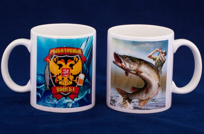 Кружки в подарок рыбакам в СПб