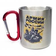 Кружка с карабином Армия России