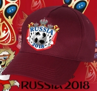 Крутая кепка Russia-2018.
