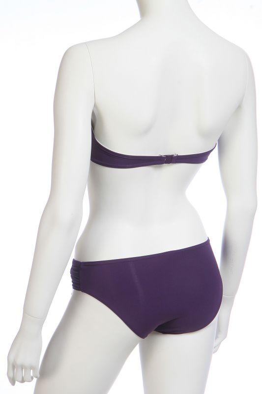 Купальник фиолетовый - вид сзади