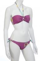 Яркий купальник Оникс. Подростковая модель, какой она должна быть. Модная горизонтальная полоска и молодёжные принты. Только здесь ЦЕНЫ на фирменные вещи ПОПОЛАМ