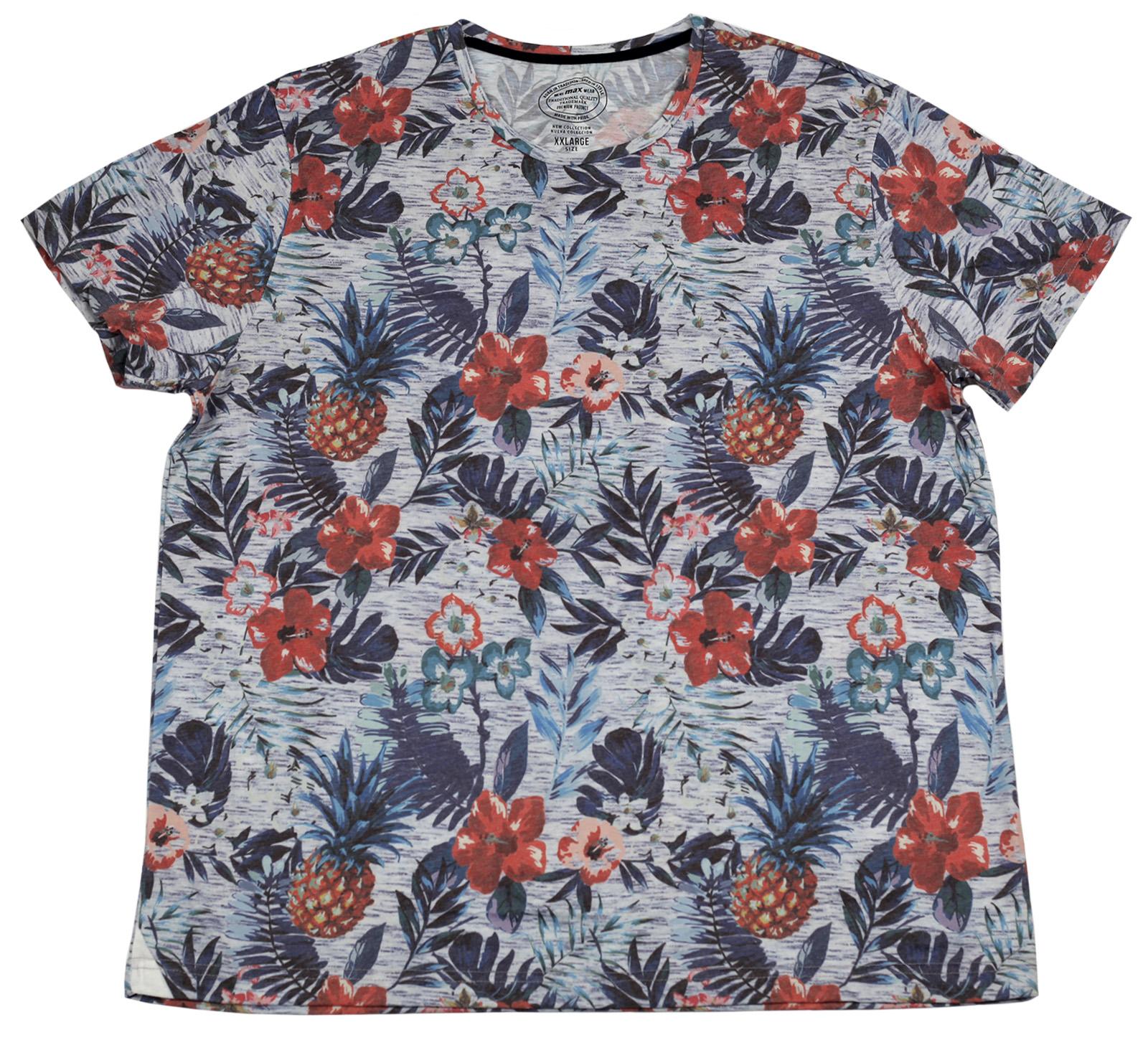 Курортная футболка Max с ярким рисунком