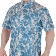 Курортная мужская рубашка от бренда Weird Fish