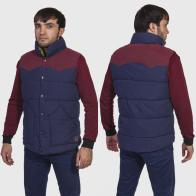 Кэжуальная мужская куртка-безрукавка Roosevelt American College