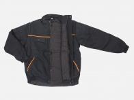Мужская куртка бомбер-трансформер.