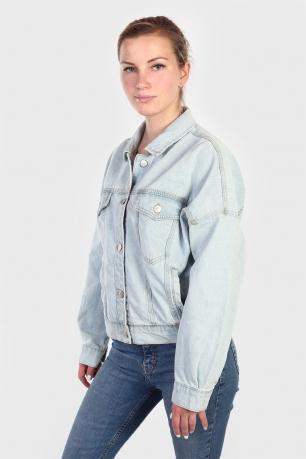 Женская джинсовая оверсайз куртка Highway.