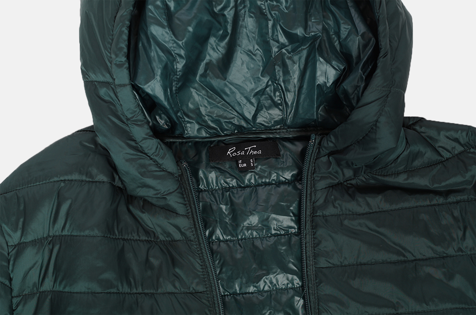 Куртка изумрудного цвета от Rosa Thea (Италия).