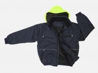 Мужская куртка трансформер со съемными рукавами.