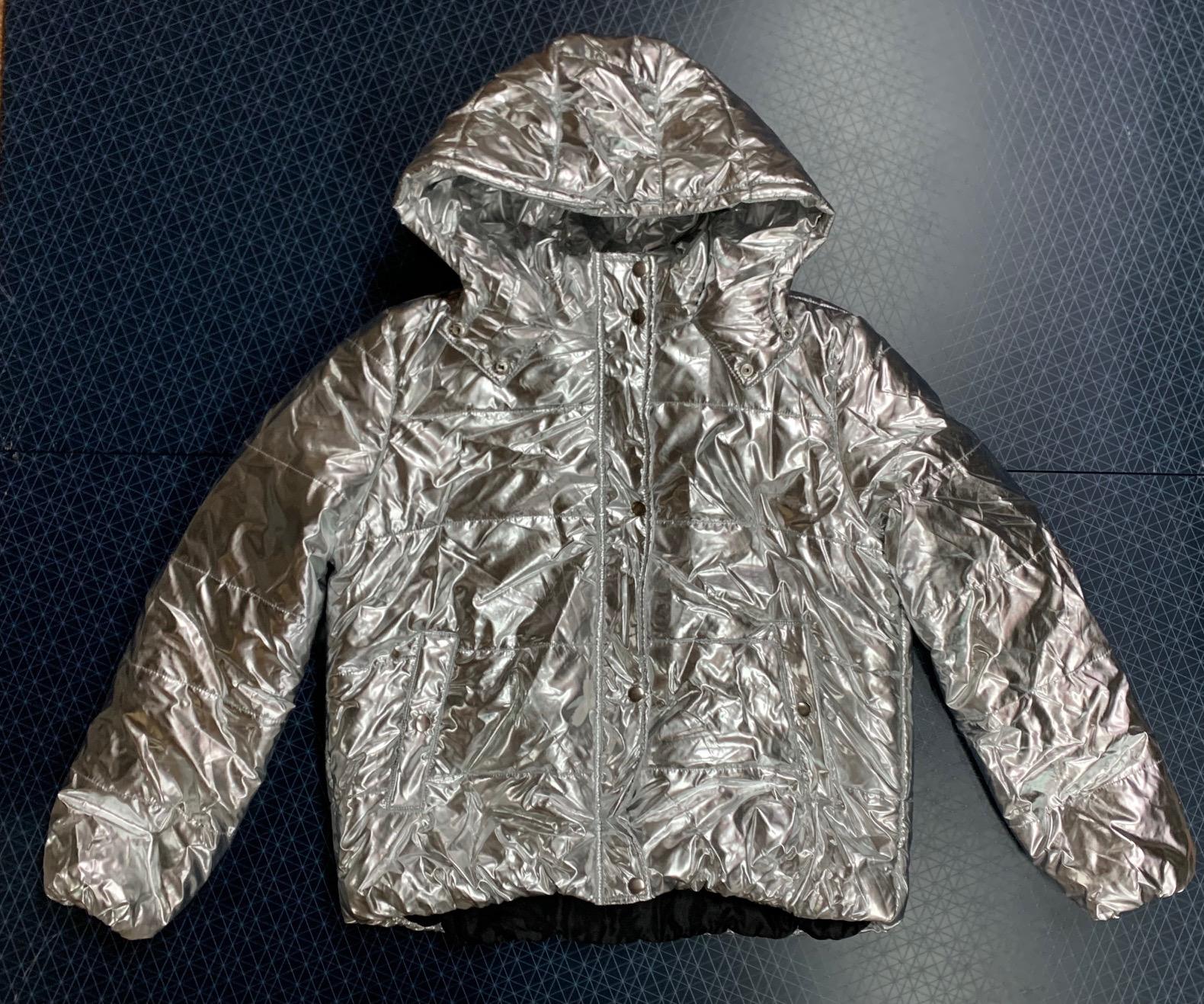 Куртка женская  Urb WOMAN серебристого цвета