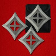 Квадратообразные сюрикены из стали