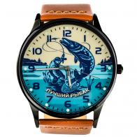 Кварцевые часы «Лучшему рыбаку»