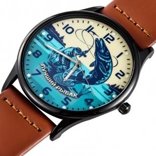 Купить кварцевые часы «Лучшему рыбаку»