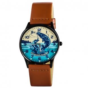 Кварцевые часы «Лучшему рыбаку» - по лучшей цене