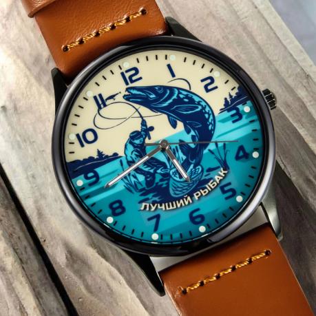 Кварцевые часы «Лучшему рыбаку» - в Военпро