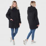 Женская куртка-парка с капюшоном