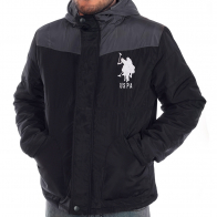 Мужская куртка U.S. Polo Assn с капюшоном